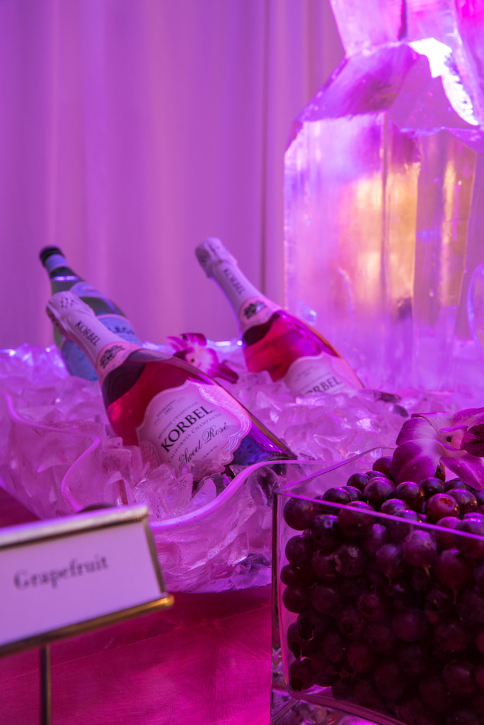 Chilled Champagne Bar at Windsor Ballroom