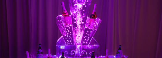Windsor Ballroom Ice Sculpture Bar
