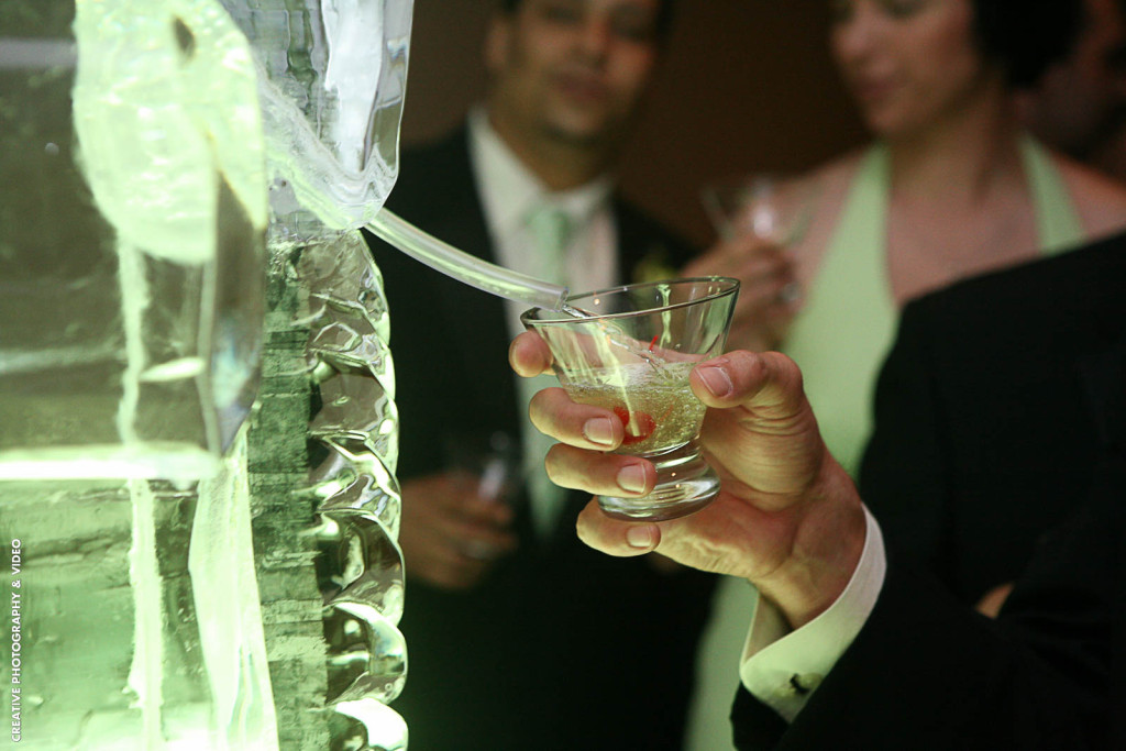 mint green ice luge