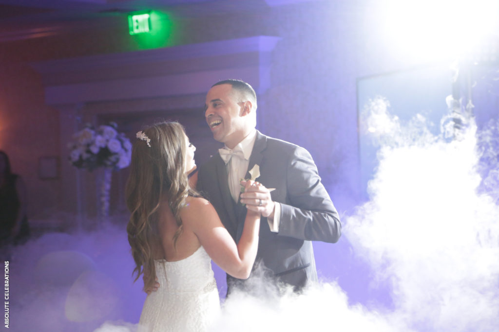couple first dance special effects