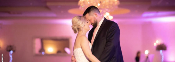 Katie + Luke tied the knot in the Windsor Ballroom on March 15