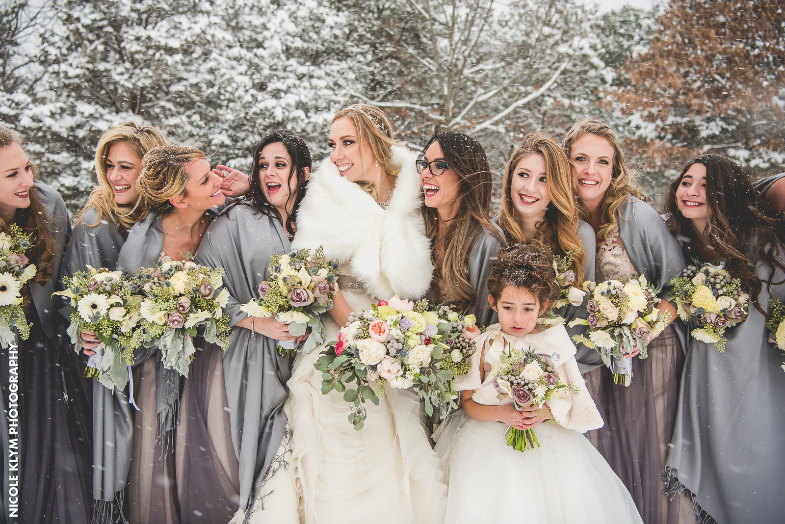 Trendy Hairstyle Ideas For Bridesmaids East Windsor Nj
